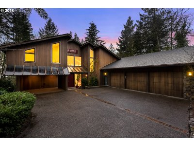 , Portland, West Linn, Lake Oswego Single Family Home For Sale: 5050 SW Patton Rd