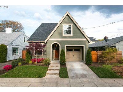 Single Family Home For Sale: 5116 SE 47th Ave