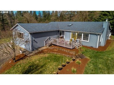 Washougal Single Family Home For Sale: 34118 SE 14th St