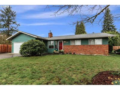 Washougal Single Family Home For Sale: 1809 H St