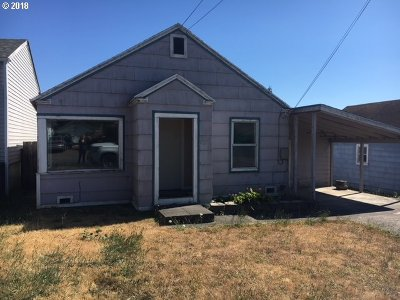 Coquille OR Single Family Home For Sale: $80,000