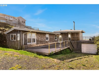 Arch Cape, Cove Beach Single Family Home For Sale: 80192 Pacific Rd