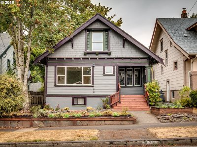 Single Family Home For Sale: 5125 SE Madison St