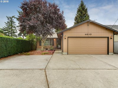 Milwaukie, Gladstone Single Family Home For Sale: 4610 SE King Rd