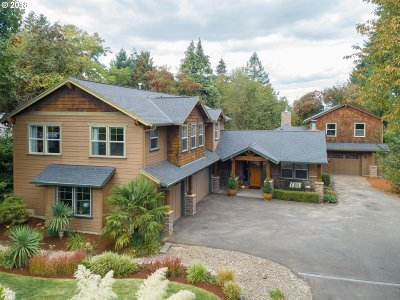 Tigard Single Family Home For Sale: 9325 SW Edgewood St