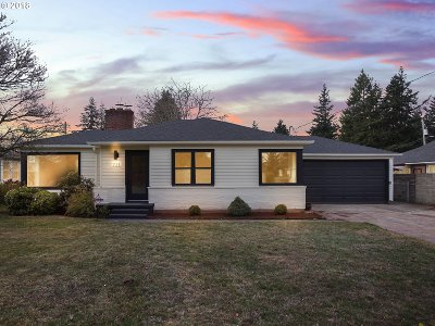 Single Family Home For Sale: 721 NE 114th Ave