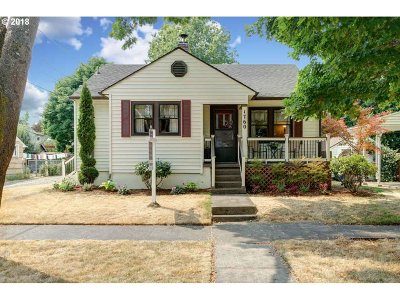 Salem Single Family Home For Sale: 1760 Norway St