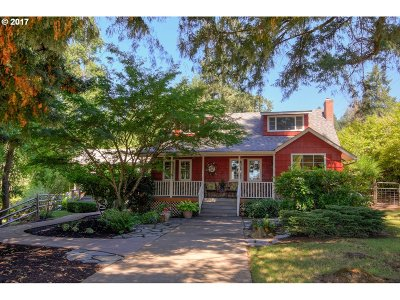 Junction City Single Family Home For Sale: 25450 Lawrence Rd