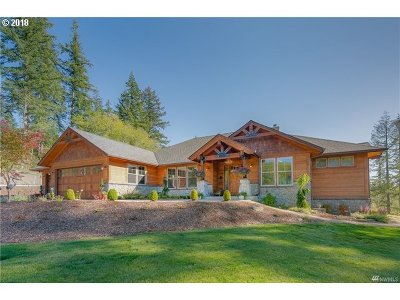 Cowlitz County Single Family Home For Sale: 1727 Bodine Extension Rd