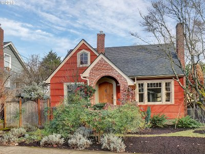 Portland Single Family Home For Sale: 3124 SE 33rd Ave