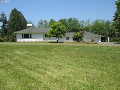 Bandon Single Family Home For Sale: 48341 Highway 101