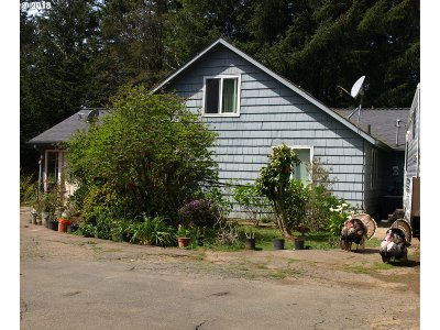 Gold Beach Single Family Home For Sale: 94122 Bellview Ln