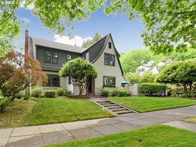Portland Single Family Home For Sale: 3009 SE Lambert St