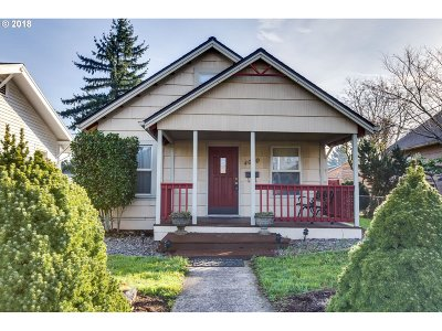 Single Family Home For Sale: 4050 SE 64th Ave
