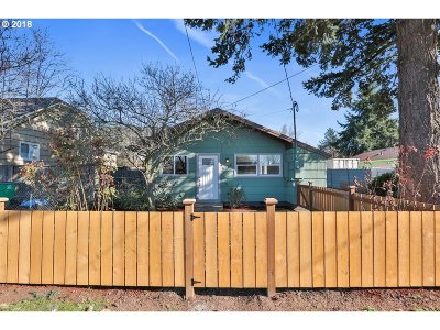Single Family Home For Sale: 6726 SE 80th Ave