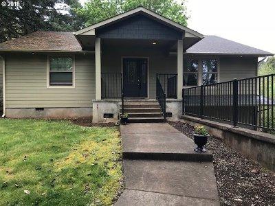 Junction City, Harrisburg Single Family Home For Sale: 24975 Butler Rd