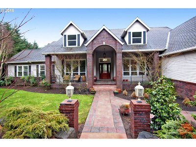 West Linn Single Family Home For Sale: 3100 Brandywine Dr
