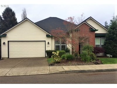 Canby Single Family Home Pending: 826 S Ponderosa St
