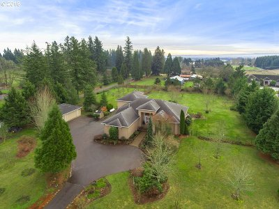 Hillsboro, Cornelius, Forest Grove Single Family Home For Sale: 12045 NW Valley Vista Rd