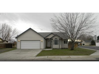 Hermiston Single Family Home For Sale: 387 NW 10th St