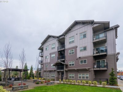 Beaverton Condo/Townhouse For Sale: 13895 SW Meridian St #214