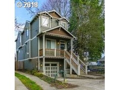 Portland Single Family Home For Sale: 8930 N Exeter Ave