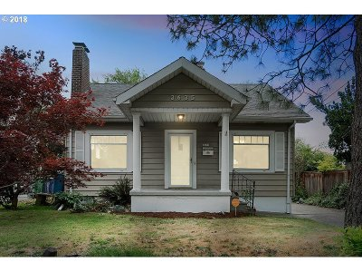 Single Family Home For Sale: 3635 SE 38th Ave
