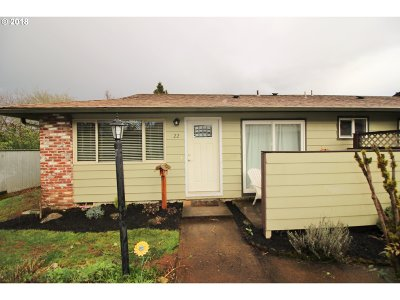 Salem OR Condo/Townhouse For Sale: $130,000