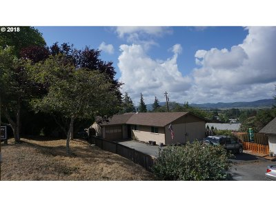 Coquille Single Family Home For Sale: 1295 N Irving St