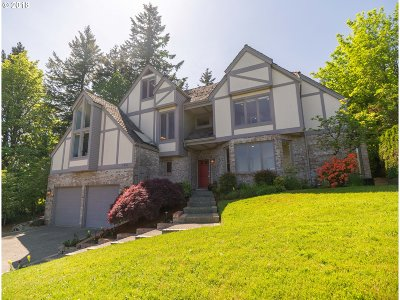 Lake Oswego Single Family Home For Sale: 2941 Orchard Hill Pl