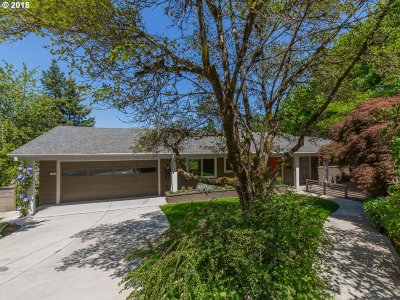 Single Family Home For Sale: 2830 SW Fairmount Blvd