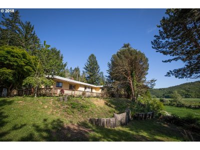North Bend Single Family Home For Sale: 94157 Larson Ln