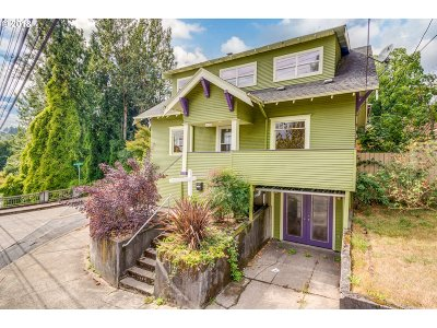 Portland OR Multi Family Home For Sale: $565,000