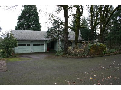 Salem Single Family Home For Sale: 3956 Orchard Heights Rd NW