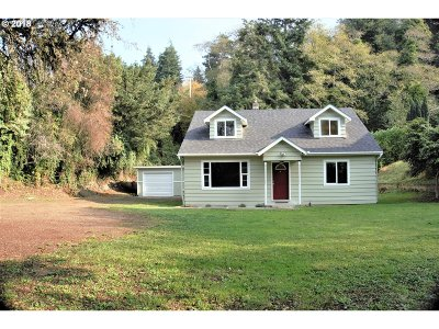 Coos Bay Single Family Home For Sale: 63701 Harriet Rd
