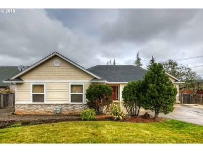 Salem OR Single Family Home Pending: $319,990