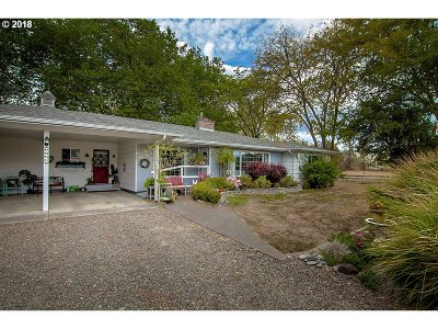 Roseburg Single Family Home For Sale: 8485 Lookingglass Rd