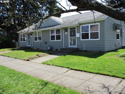 Portland OR Multi Family Home For Sale: $475,000