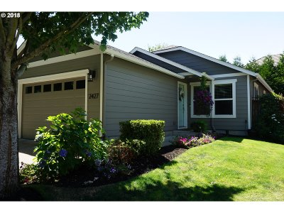 Eugene Single Family Home For Sale: 2427 Mountain Ter