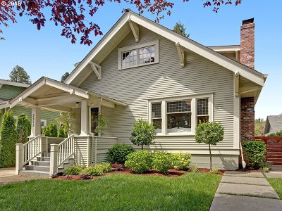 Portland Single Family Home For Sale: 2433 NE 38th Ave