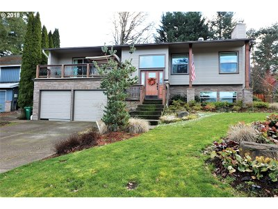 Beaverton Single Family Home For Sale: 15760 SW Barnard Ct