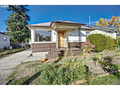 Portland Single Family Home For Sale: 6709 N Denver Ave