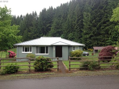 Scio Single Family Home Sold: 44255 Camp Morrison Dr