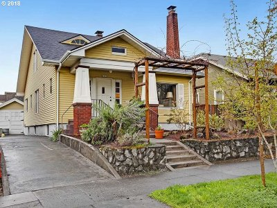 Portland Single Family Home For Sale: 2163 NE 7th Ave