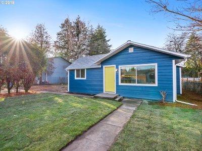 Single Family Home For Sale: 723 NE 93rd Ave