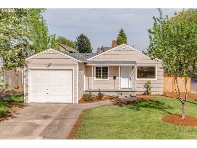 Single Family Home For Sale: 6546 SE 88th Ave