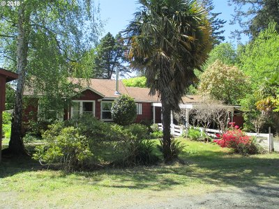 Bandon Single Family Home For Sale: 56184 Lost Valley Rd