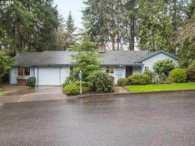 Portland Single Family Home For Sale: 4821 SW 35th Pl