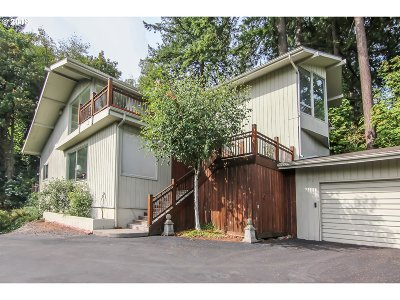 Single Family Home For Sale: 3800 SW Humphrey Blvd