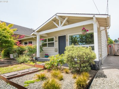 Portland Single Family Home For Sale: 5319 NE 18th Ave